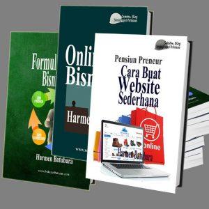 Paket 3 Buku Bisnis Online